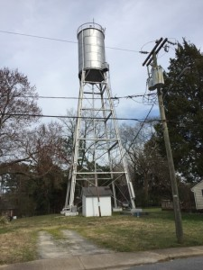 Water Tower - Cary Street